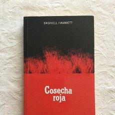 Libros: COSECHA ROJA - DASHIELL HAMMETT. Lote 214064531