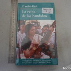 Libros: AR/1 - PRECINTADO / LA REINA DE LOS BANDIDOS - OHOOLAN DEVI / RBA. Lote 214118207