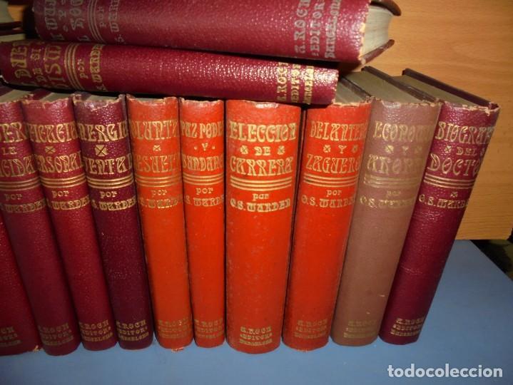 Libros: magnifica coleccion completa de 40 tomos de orison swett marden - Foto 8 - 226925835