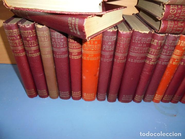 Libros: magnifica coleccion completa de 40 tomos de orison swett marden - Foto 2 - 226925835