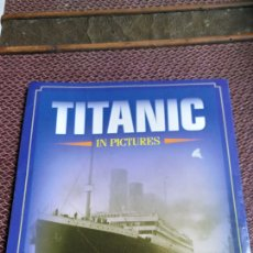 Libros: LIBRO TITANIC IN PICTURES + POSTALES. Lote 214190638