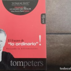 Libros: EL FRACASO DE LO ORDINARIO (SPANISH EDITION)PETERS, TOM. Lote 214193778