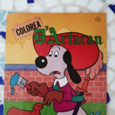 Libros: COLOREA CON D'ARTACAN EDICIONES MONTERA 1981. Lote 214251737