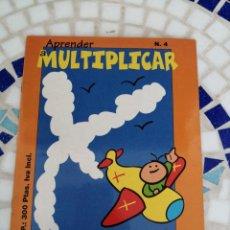 Libros: INFANTIL APRENDE A MULTIPLICAR CONTIENE PEGATINAS. Lote 214252135
