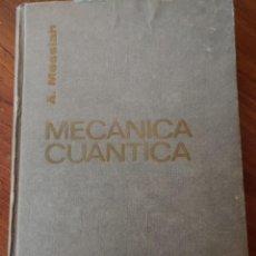 Libros: MECANICA CUANTICA TOMO 1,A. MESSIAH,PYMY 4. Lote 215288525