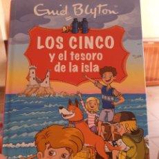 Libros: LIBRO LOS CINCO Y EL TESORO DE LA ISLA ( ENID BLYTON ). Lote 215988895