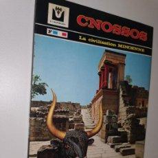 Libros: CNOSSOS. LE PALAIS DE MINOS EXPOSE SOMMAIRE DE LA CIVILISATION MINOENNE SOSSO LAGIADOU / PLATONOS. Lote 216402113