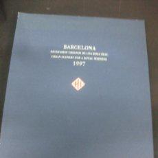 Libros: BARCELONA ESCENARIOS URBANOS DE UNA BODA REAL. CRISTINA DE BORBON - IÑAKI URDANGARIN. 4-10-1997.. Lote 216659720
