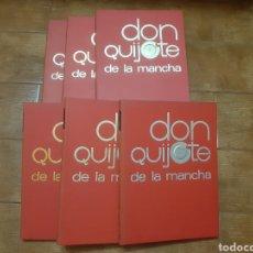 Libros: 6 TOMOS DON QUIJOTE DE LA MANCHA. (ED. NARANCO) FORMATO CÓMIC 1.972. Lote 216721468