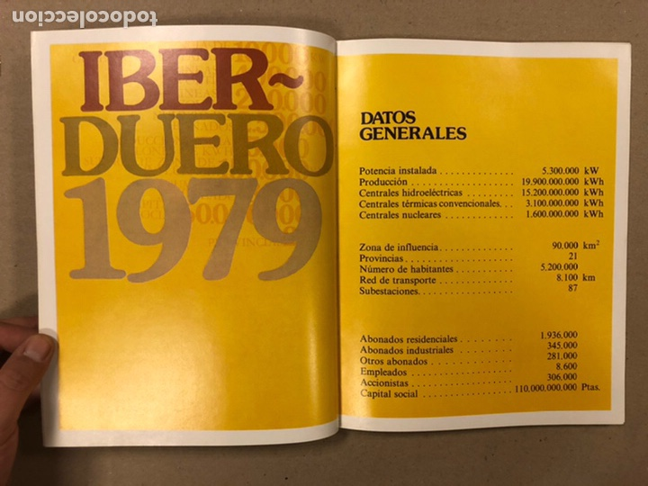Libros: IBERDUERO (1979). LIBRO PUBLICITARIO. - Foto 4 - 216977600