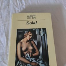 Libros: SOLAL - COHEN, ALBERT. Lote 226815025