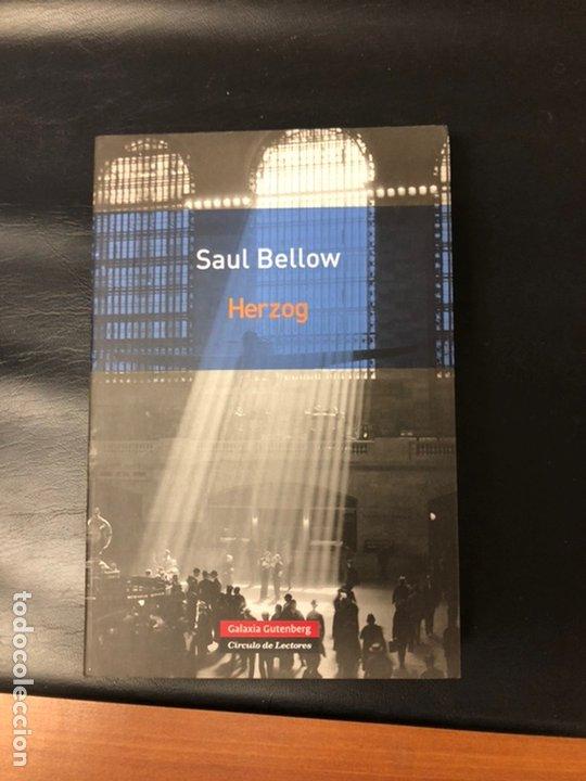 HERZOG, DE SAUL BELOW PERFECTO ESTADO (Libros Nuevos - Literatura - Narrativa - Aventuras)