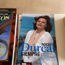 Libros: G-37 LIBRO ROCIO DURCAL SIEMPRE DVBOOK. Lote 217543851