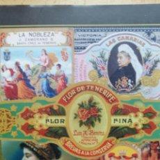Libros: LIBRO DE VITOLAS LA FAMILIA ZAMORANO A TRAVÉS DE LA VITOLFILIA DESDE 1850. Lote 217864520