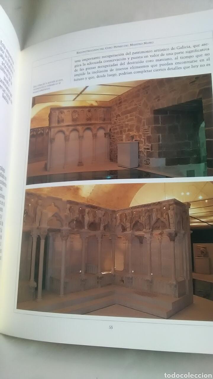 Libros: Maestro Mateo. Reconstrucción del Coro Pétreo. Fundación Pedro Barrié de la Maza. 1999 - Foto 2 - 218280972