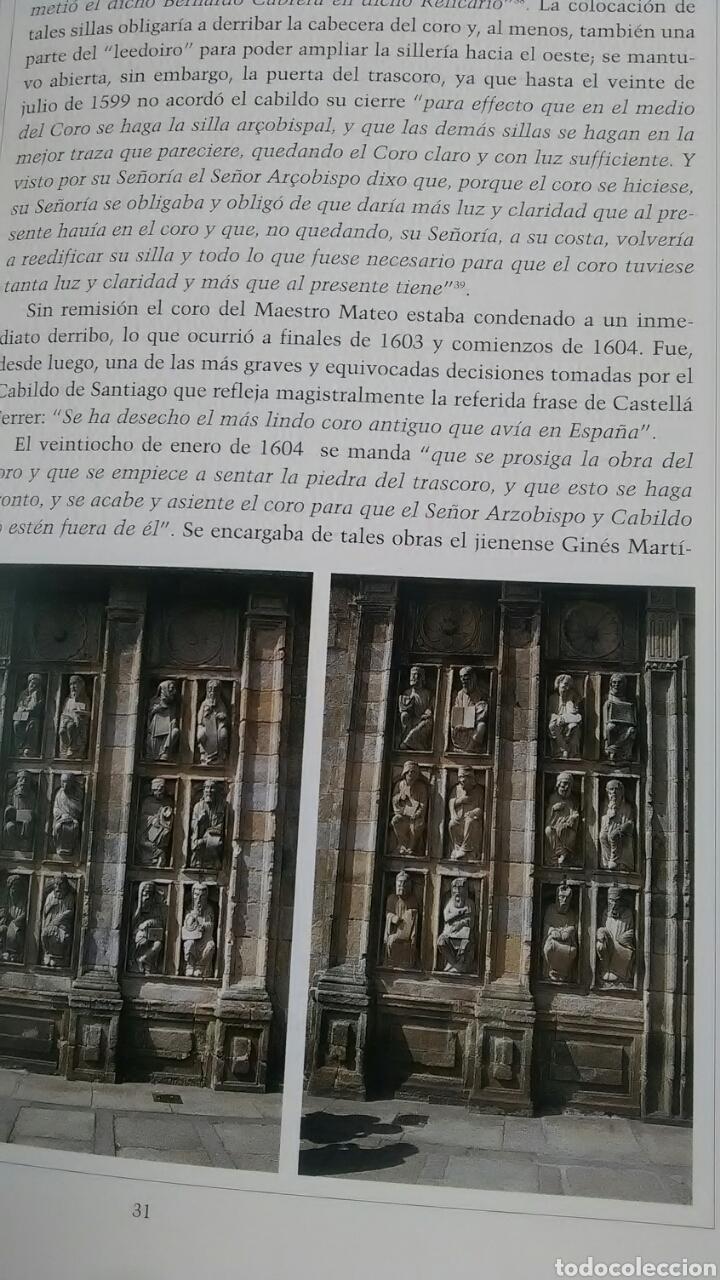 Libros: Maestro Mateo. Reconstrucción del Coro Pétreo. Fundación Pedro Barrié de la Maza. 1999 - Foto 5 - 218280972