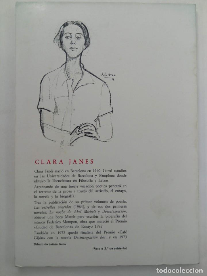 Libros: EN BUSCA DE CORDELIA Y POEMAS RUMANOS - CLARA JANES - COLECCIÓN ÁLAMO SALAMANCA 1975 - Foto 2 - 218398632