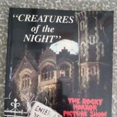 Libros: CREATURES OF THE NIGHT. THE ROCKY HORROR EXPERIENCE. - SAL PIRO:. Lote 218439700