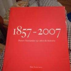 Libros: BANCO SANTANDER 150 AÑOS DE HISTORIA. Lote 245225770