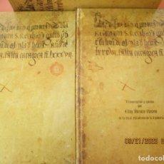 Libros: EL LIBRO DEL LIMOSNERO DE ISABEL LA CATÓLICA - ELOY BENITO RUANO - MINISTERIO ASUNTOS SOCIALES 1989.. Lote 218579836