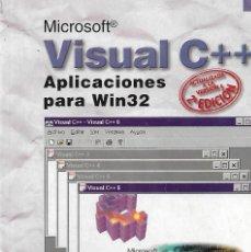 Libros: VISUAL C++ APLICACIONES PARA WIN 32 (ENVIO PENINS MENS GRATIS) - FRANCISCO JAVIER CEBALLOS SIERRA. Lote 218658151