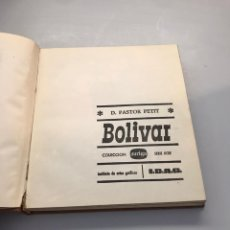 Libros: BOLÍVAR. Lote 218760796