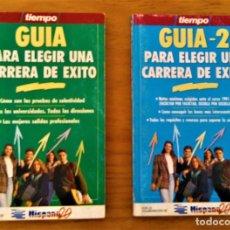 Libros: GUIA PARA ELEGIR UNA CARRERA DE EXITO - TIEMPO. Lote 219171996