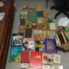 Libros: LOTE DE 34 LIBROS ANTIGUOS. Lote 219259827