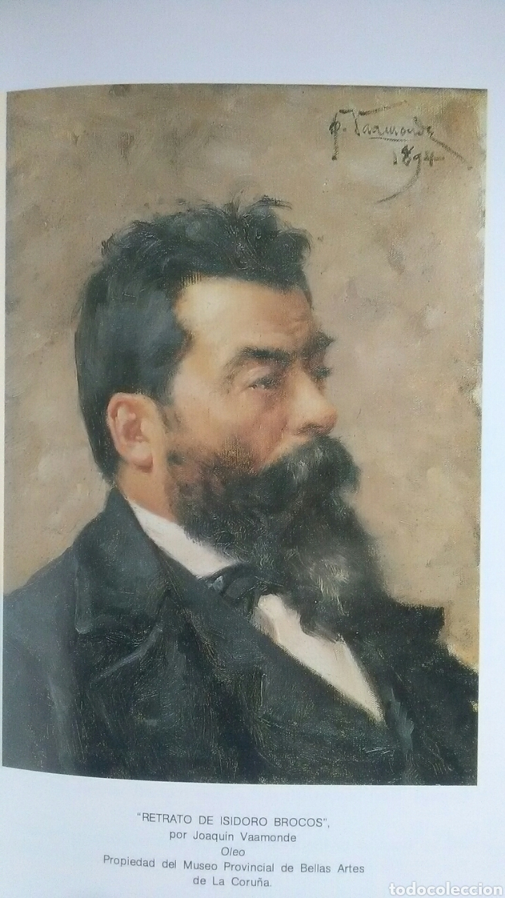 Libros: Isidoro Brocos. Dibujo. Pintura. Escultura. Edita Diputación A Coruña. 1985 - Foto 2 - 219444885