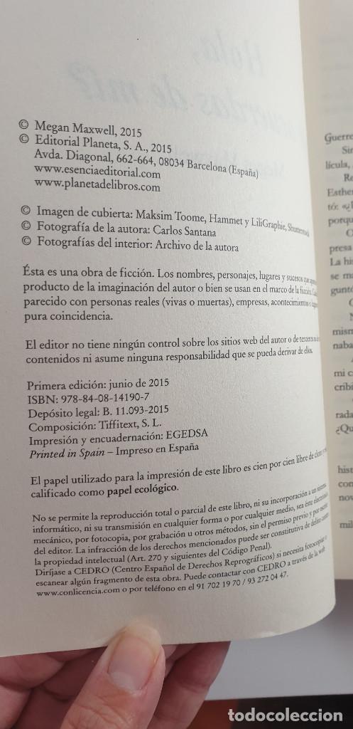 Libros: LIBRO-HOLA ¿TE ACUERDAS DE MI?-MEGAN MAXWELL-ESENCIA-VER FOTOS - Foto 5 - 219465166