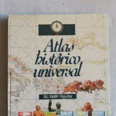 Libros: LIBRO ATLAS HISTÓRICO UNIVERSAL. Lote 219735262