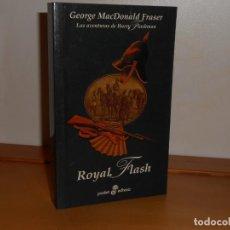 Libros: ROYAL FLASH, GEORGE MACDONALD FRASER - POCKET EDHASA. Lote 219745177
