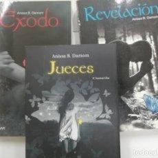 Libros: TRILOGÍA ÉXODO COMPLETA. ANISSA B DAMON. ED ÁMBAR - NOVA CASA. Lote 220411130