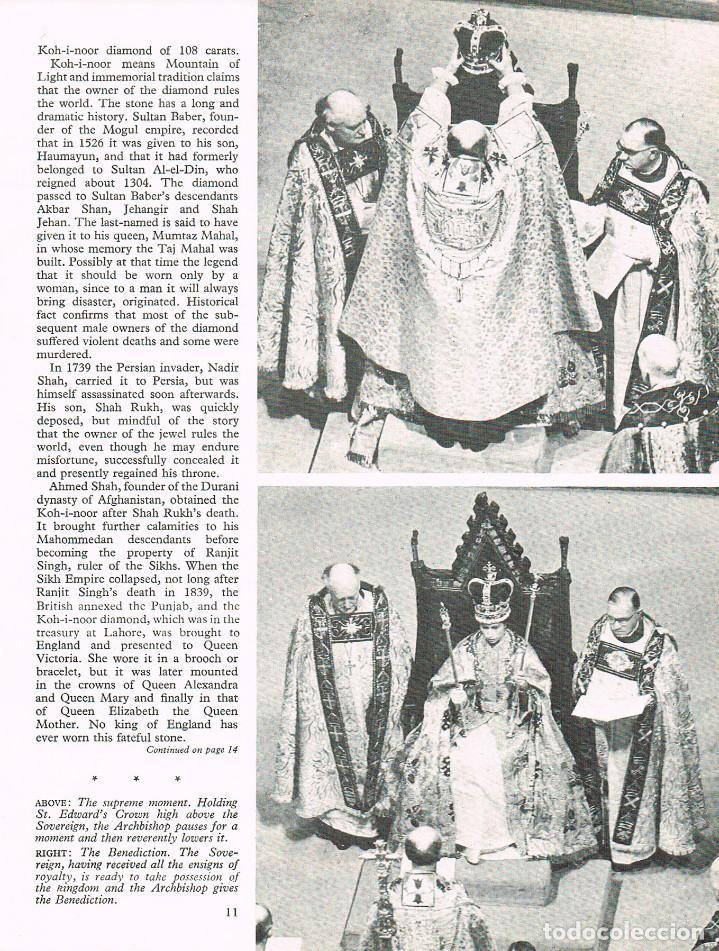 Libros: The Crown Jewels and Coronation Ritual, EDITADO CON MOTIVO DE LA CORONACIÓN DE LA REINA iSABEL DE IN - Foto 2 - 220506242