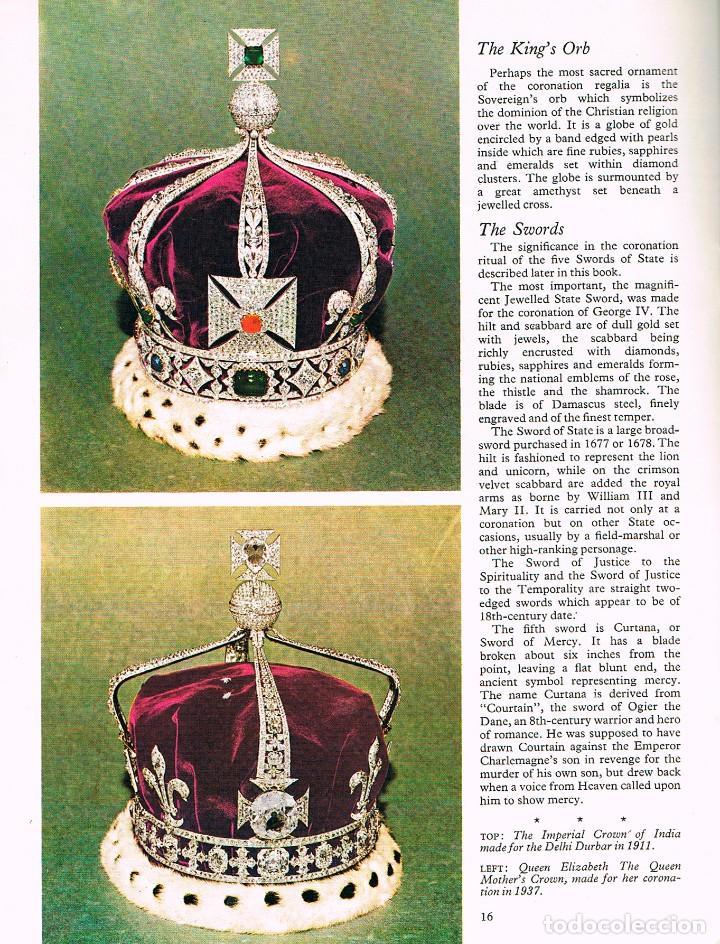 Libros: The Crown Jewels and Coronation Ritual, EDITADO CON MOTIVO DE LA CORONACIÓN DE LA REINA iSABEL DE IN - Foto 3 - 220506242