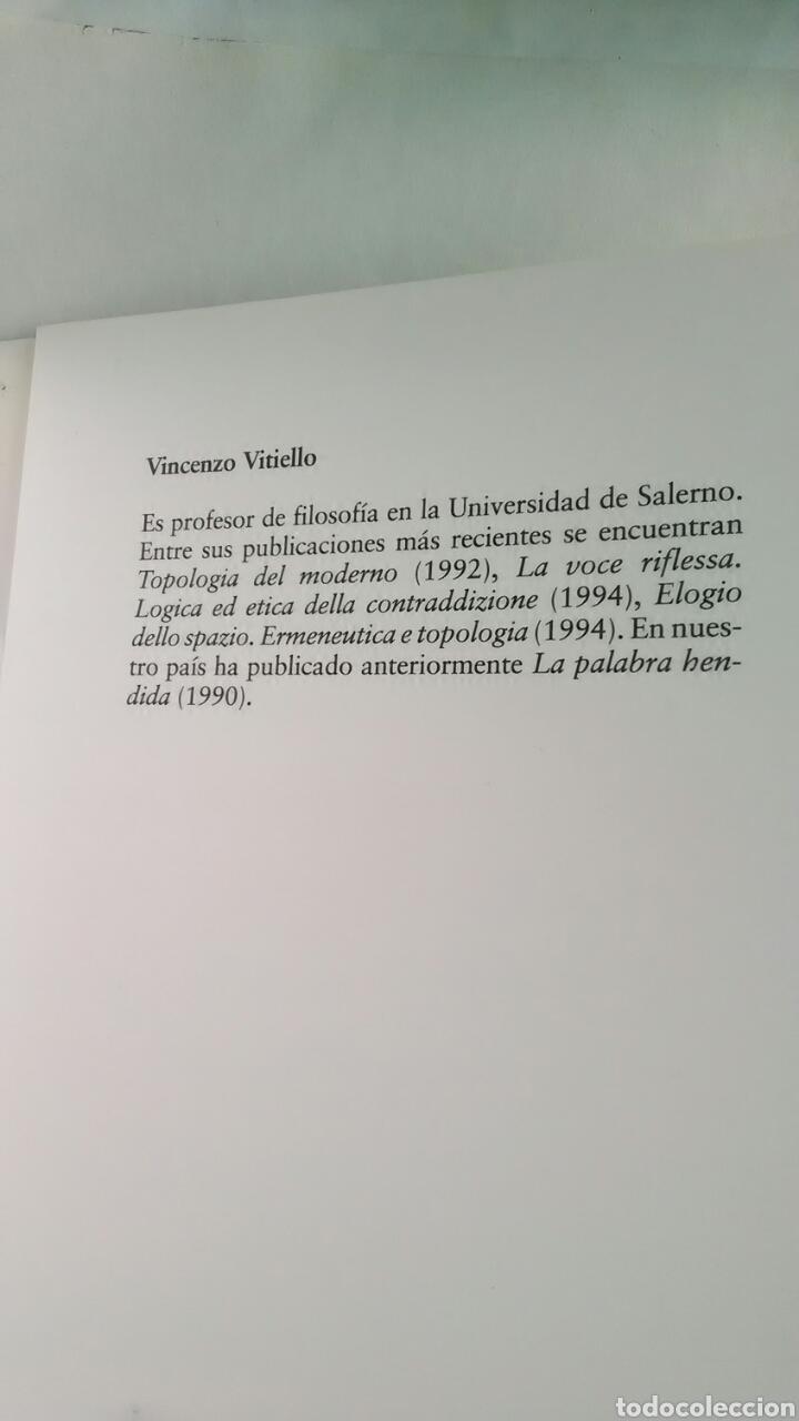 Libros: Cristianismo sin redencion. Vicenzo Vitiello. Trotta. 1999 - Foto 3 - 220658085