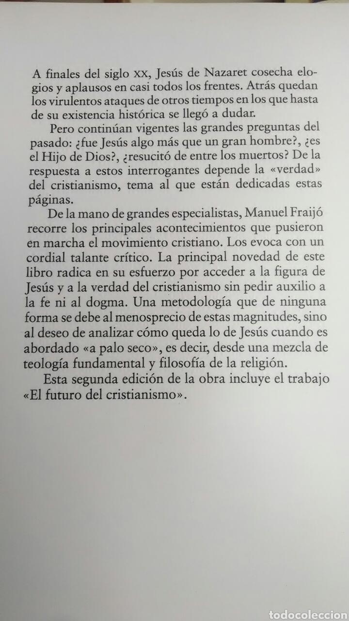 Libros: El cristianismo. Una aproximación. Manuel Fraijó. 1997. - Foto 2 - 220658432