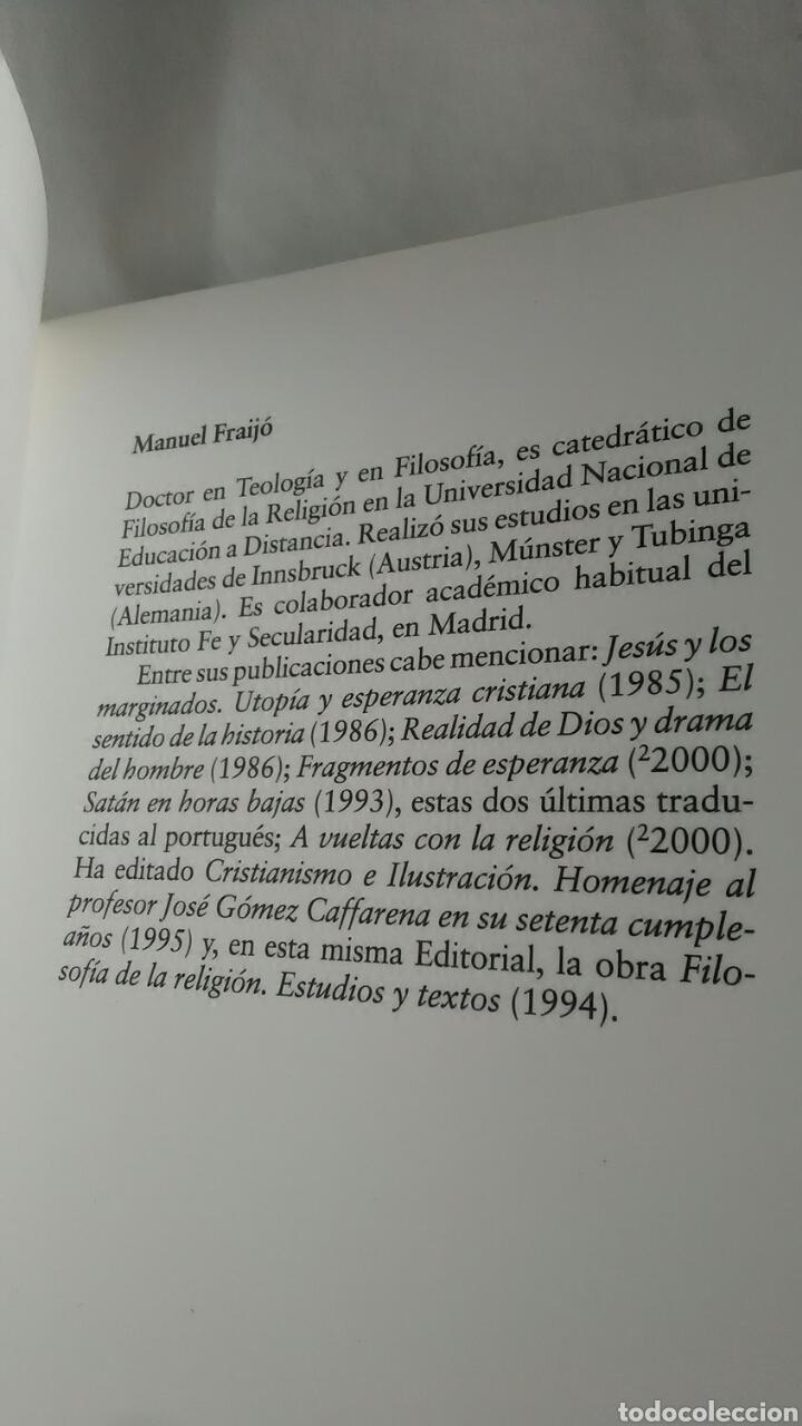 Libros: El cristianismo. Una aproximación. Manuel Fraijó. 1997. - Foto 3 - 220658432