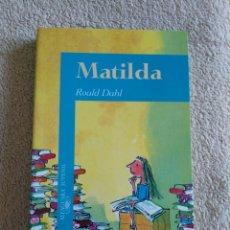 Libros: LIBRO MATILDA (NUEVO). Lote 220752143