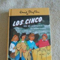 Libros: LOS CINCO EN EL PÁRAMO MISTERIOSO. Lote 220753391