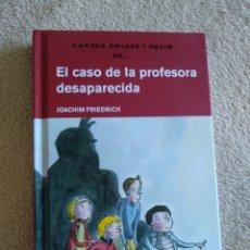 Libros: EL CASO DE LA PROFESORA DESAPARECIDA. Lote 220753516