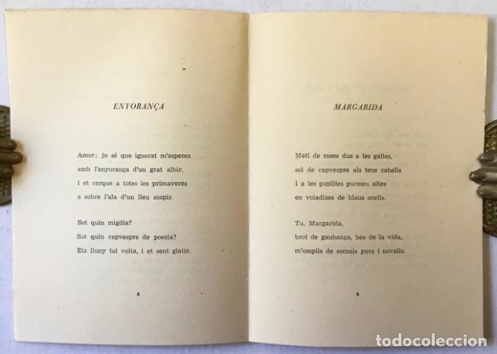 Libros: ALGUNS POEMES. - CASP I VERGER, Vicent. - Foto 2 - 220943537