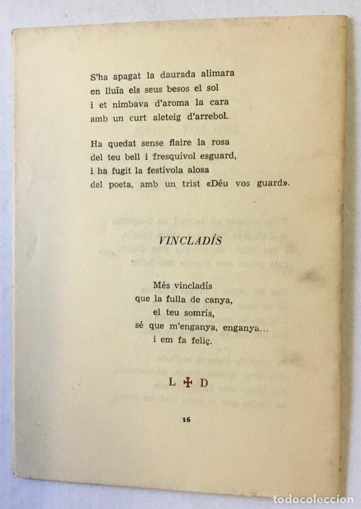 Libros: ALGUNS POEMES. - CASP I VERGER, Vicent. - Foto 3 - 220943537