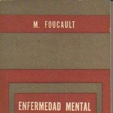 Libros: ENFERMEDAD MENTAL Y PERSONALIDAD. - FOUCAULT, MICHEL.. Lote 221012602