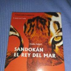 Libros: LIBRO SANDOKAN, EL REY DEL MAR. Lote 221158772
