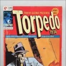 Libros: COMIC TEBEOS GLENAT PRESENTA TORPEDO 1936 4 ZONA ED. 1981. Lote 221181350