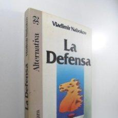 Libros: LA DEFENSA NABOKOV, VLADIMIR. Lote 221280985