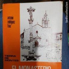 Libros: EL MONASTERIO DE ACIBEIRO. ANTONIO RODRÍGUEZ FRAIZ. 1973. Lote 221318162