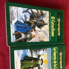 Libros: EL CATACLISMO Y LA GUERRA DE LA LANZA. Lote 221554027