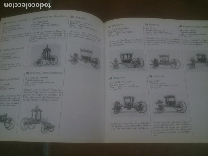 Libros: GUIA DO MUSEU NACIONAL DOS COCHES LISBOA 1989 Texto in portuguese. - Foto 3 - 221622753